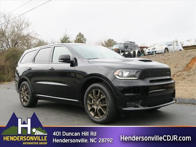 new 2018 dodge durango r t suv near asheville 82902. Black Bedroom Furniture Sets. Home Design Ideas