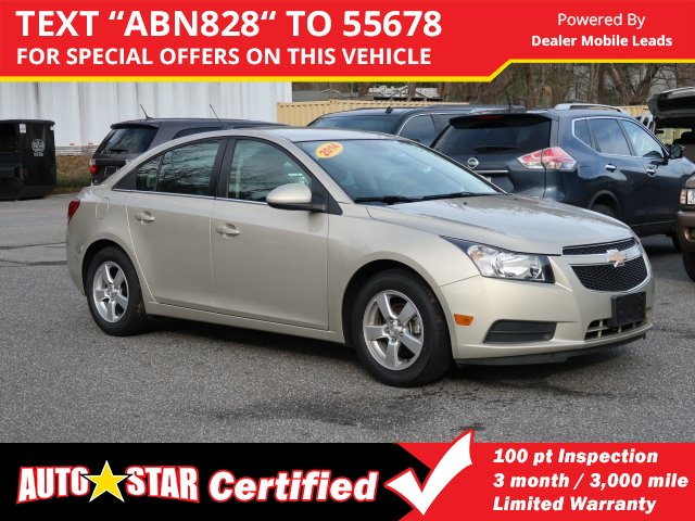 Pre-Owned 2014 Chevrolet Cruze LT w/1FL