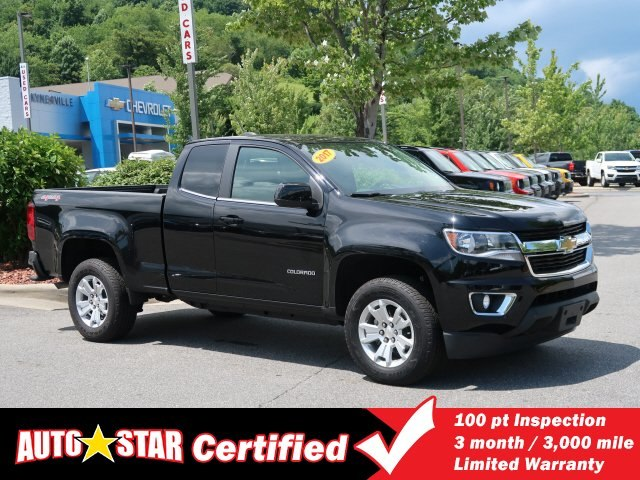 Certified Pre-Owned 2017 Chevrolet Colorado 4WD LT