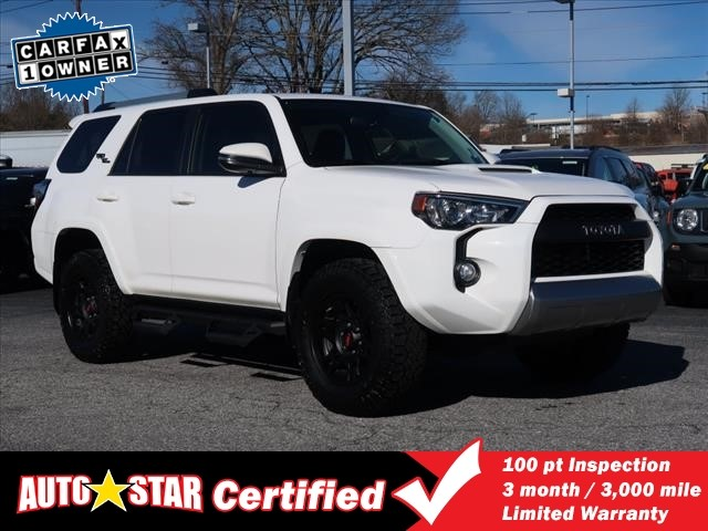 Pre-Owned 2018 Toyota 4RUNNER 4WD TRD Off-Road Premium