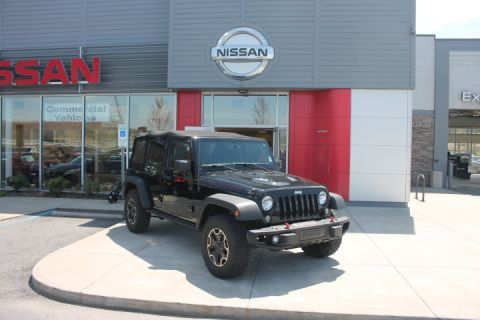 Pre-Owned 2015 JEEP WRANGLER UNLIMITED Unlimited Rubicon