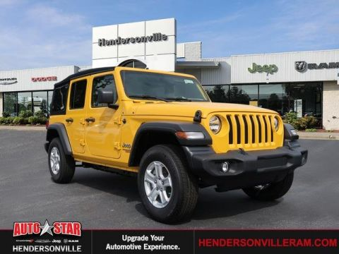 New 2019 Jeep Wrangler Unlimited Sport S