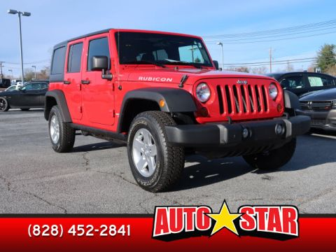 Pre-Owned 2011 JEEP WRANGLER UNLIMITED Unlimited Rubicon