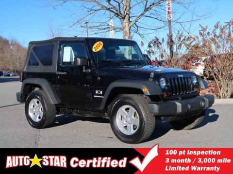 Pre-Owned 2009 Jeep Wrangler X