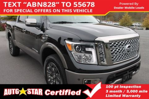 Certified Pre-Owned 2017 Nissan Titan Platinum Reserve